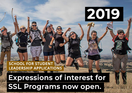 Expressions of Interest for 2019 SSL Programs Now Open