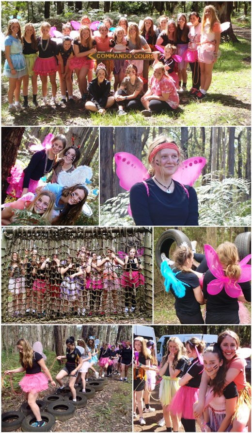 Girls Day Out - Commando Course
