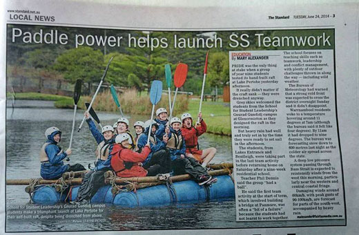 Paddle Power in the Local News