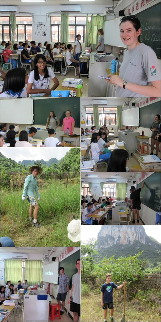 VYLC students teach English