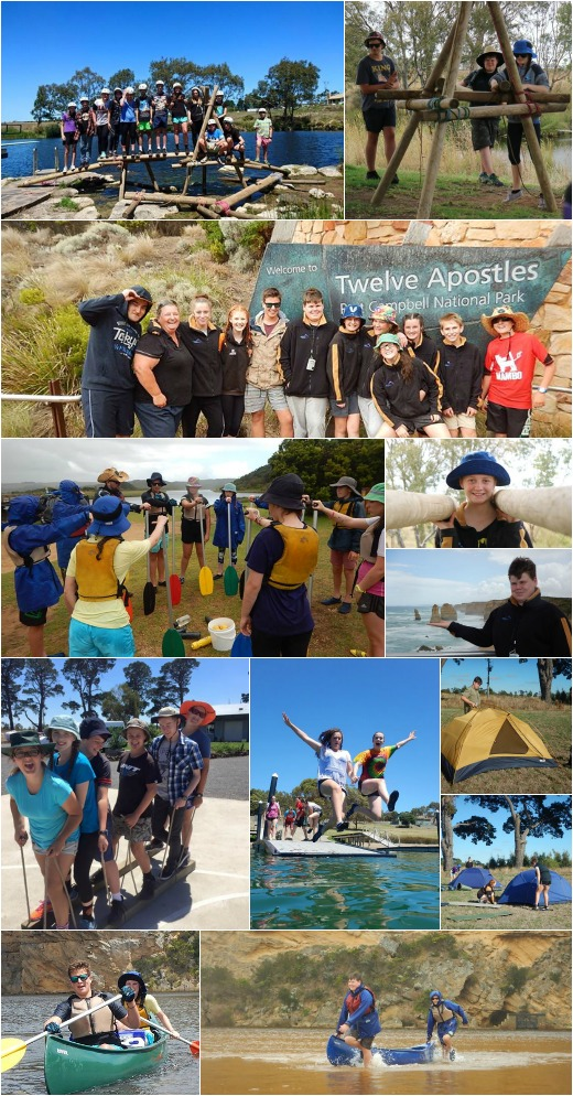 Term 1, 2016 - Bridge Building, Canoeing, Expo Skills and more