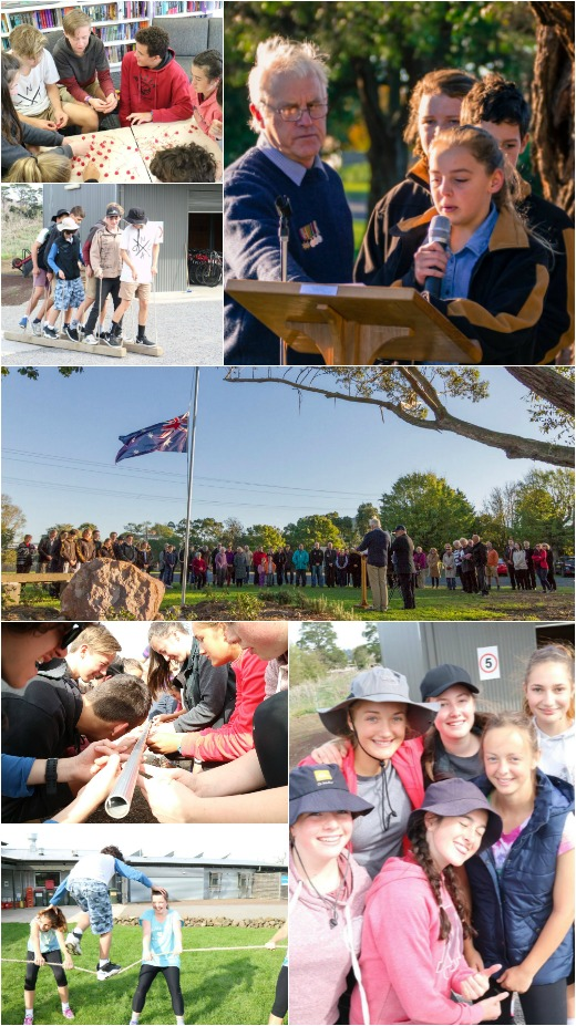 Term 2, 2016 - Team Activities, ANZAC Day service and Community Agreement