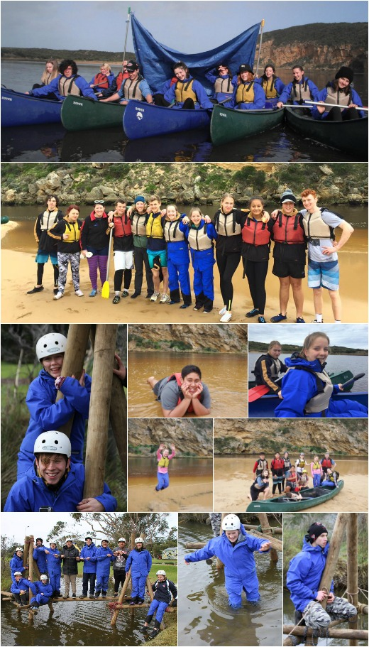 Term 3, 2016 - Bridge Building and Canoeing on the Gellibrand River at Princetown