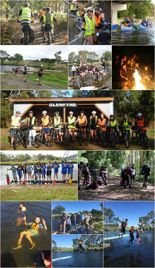 Term 1, 2017 - Expo, Canoeing, Bike Riding and Bridge Building