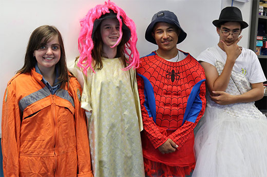 The parents have left, the rain has arrived and the dress ups have been discovered! A great start to what will be a great term.